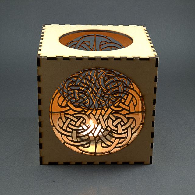 laser cut wood box template - product gallery from tamar laser craft